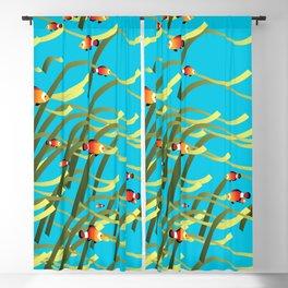 Underwater scene Blackout Curtain