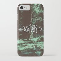 wander iPhone & iPod Cases featuring Wander by Leah Flores
