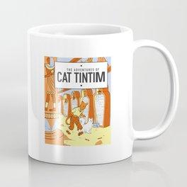 Belgian Comics Cat Tintim Coffee Mug