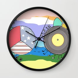 Hippie Life Wall Clock