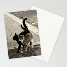 shadow in love Stationery Cards