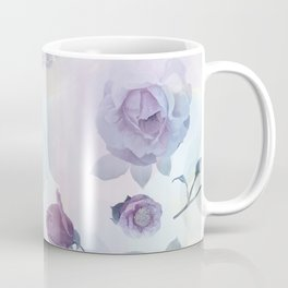 seamless   pattern with roses . Endless texture Coffee Mug