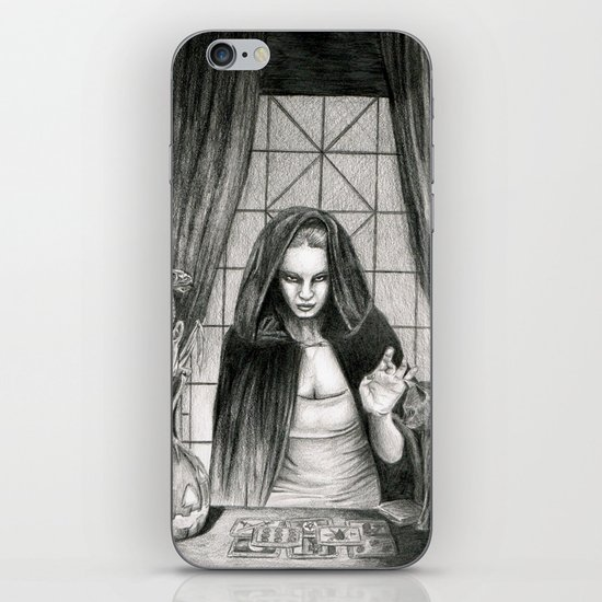 The Mis-Fortune Teller iPhone & iPod Skin