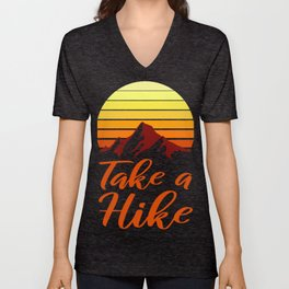 Climbing Make a Gifts For Outdoor Lovers Hiking Unisex V-Neck