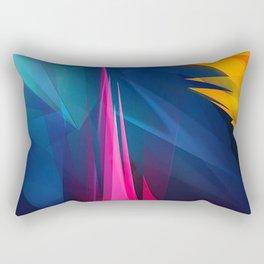 Geometric Colors Rectangular Pillow