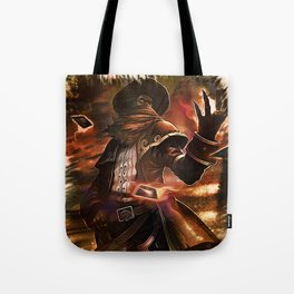 League of Legends HIGH NOON TWISTED FATE Tote Bag