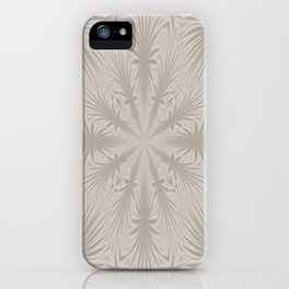 Silver Drapery iPhone Case