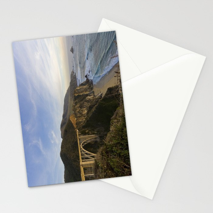 Bixby Bridge at Big Sur Stationery Cards