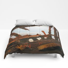 The Wreck of the Peter Iredale Comforters