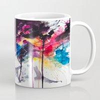 la Mugs featuring la nostra infinita abnegazione  by agnes-cecile