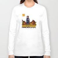 n7 Long Sleeve T-shirts featuring 8bit sequal? by pixel.pwn | AK