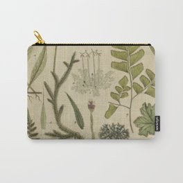 Ferns And Mosses Carry-All Pouch