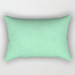 Speckled Texture - Pastel Seafoam Green Teal Rectangular Pillow