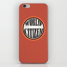 World Citizen iPhone & iPod Skin