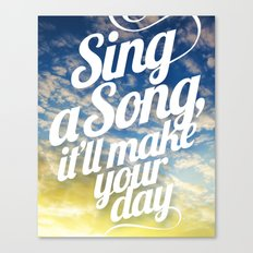 Sing A Song! Canvas Print
