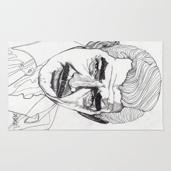 Clark Gable Rug
