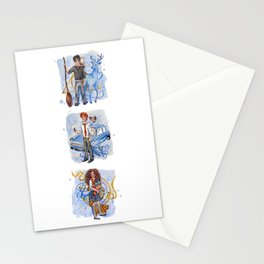 The Golden Trio Stationery Cards