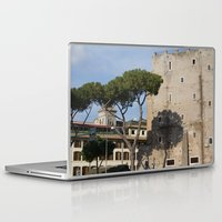 italy Laptop & iPad Skins featuring Italy by Leandra