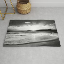 The sound of the ocean Rug