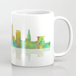 Cleveland, Ohio Skyline Coffee Mug