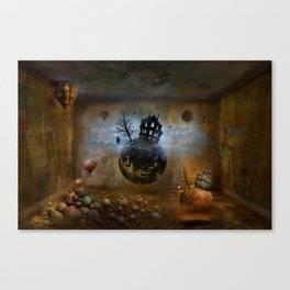 Im Schattenland 2 Canvas Print
