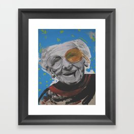 grandmother Framed Art Print