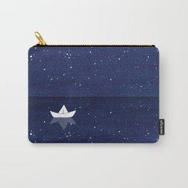 Zen sailing, ocean, stars Carry-All Pouch