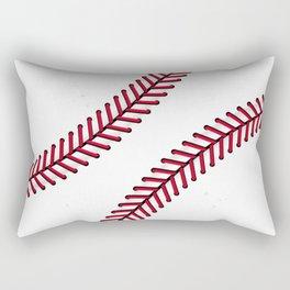 Fantasy Baseball Super Fan Home Run Rectangular Pillow