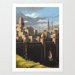 "Amin al Joddah ""The Jewel of the Desert"" Art Print"