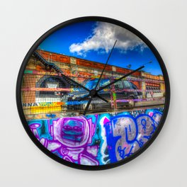 Leake Street and London Taxi Wall Clock