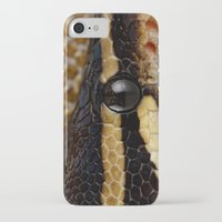 monty python iPhone & iPod Cases featuring Python by Mark Johnson
