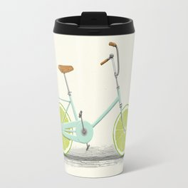 Acid (Blue) Travel Mug