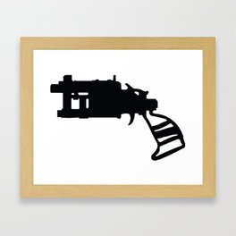 Pipe Revolver  Framed Art Print