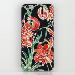 Tiger Lily iPhone Skin