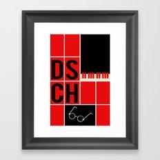 Dmitri Shostakovich - DSCH Framed Art Print