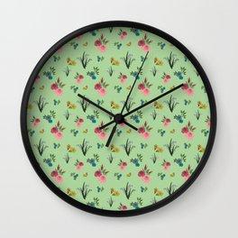 Dans mon jardin Wall Clock