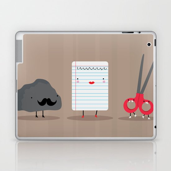 Rock paper scissors Laptop & iPad Skin
