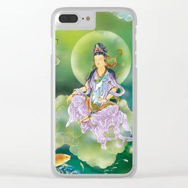 Playing Avalokitesvara Clear iPhone Case