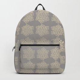 Crochet snowflakes pattern Backpack