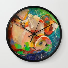 Mumps Wall Clock