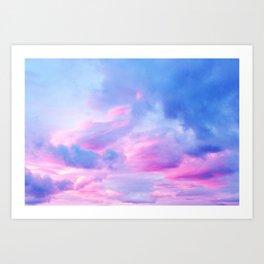 Clouds Series 1 Art Print