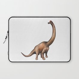 Realistic watercolor dinosaur Laptop Sleeve