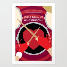 80s TEEN MOVIES :: SOME KIND OF WONDERFUL Art Print