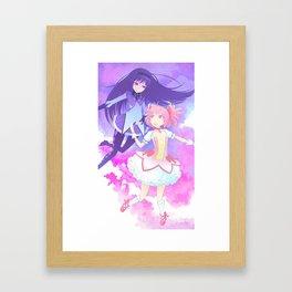 Magical Girls Framed Art Print
