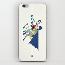 The POW! of love iPhone Skin