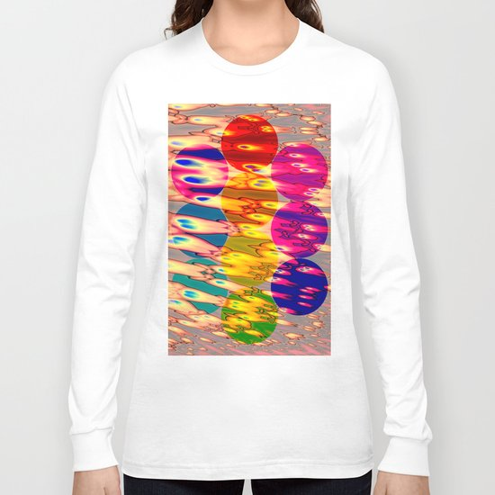 firebodies with blue eyes II forms Long Sleeve T-shirt