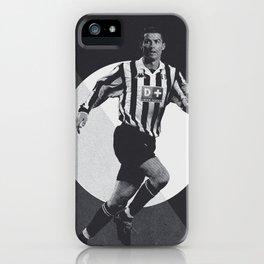 Christiano Ronaldo Retro Artwork iPhone Case