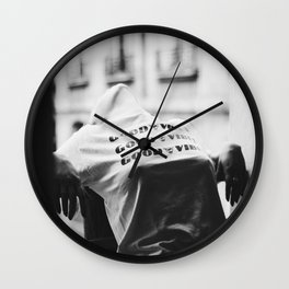 Parisian Vibes Wall Clock