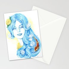 Lady Water / Dame Eau Stationery Cards