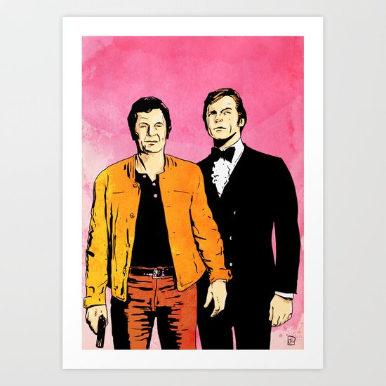 The Persuaders Art Print